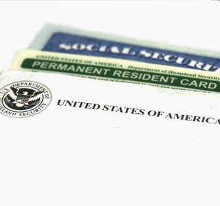 Permanent Resident Card based on Employment USA